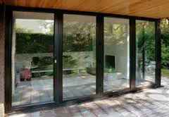 Bi-folding doors 4 pain closed Bury
