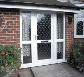 Upvc 1200 2100 french door supplied fitted only 645 ebay for Upvc french doors 1200 x 2100