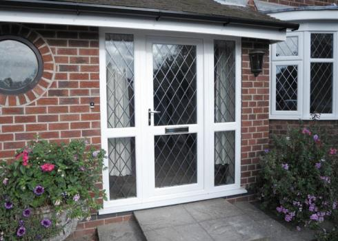 Upvc 1200 2100 french door supplied fitted only 645 ebay for 1200 french doors