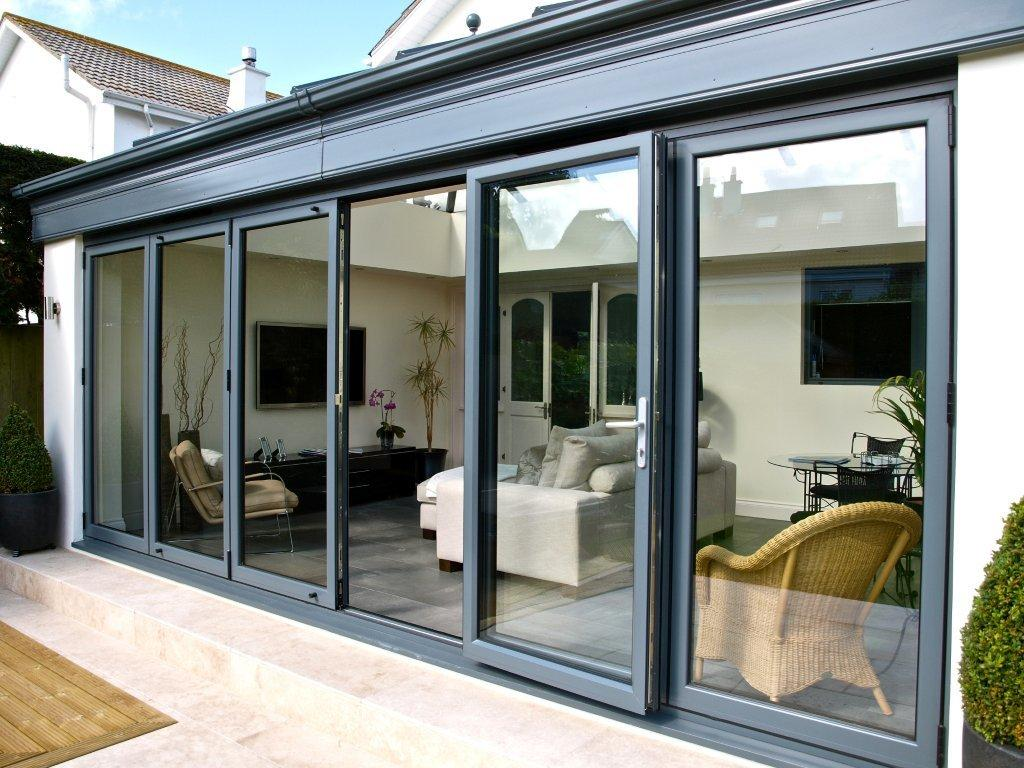 Aluminium bi fold doors citizen windows upvc windows for Aluminium folding doors